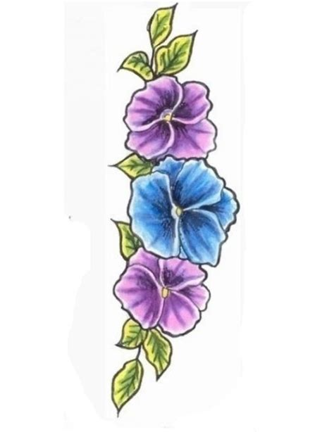 tattoo design violet the 25 best ideas about violet flower tattoos on