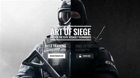 siege program study up on rainbow six siege to a beta key vg247