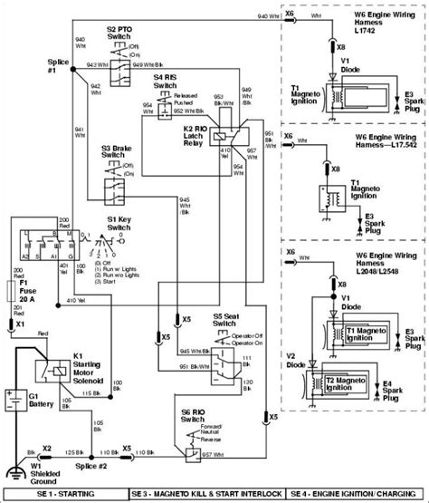 deere sabre wiring diagram 31 wiring diagram images