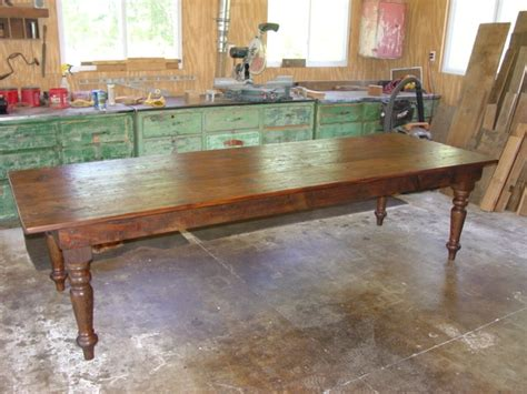 primitivefolks rustic pine farm tables country harvest