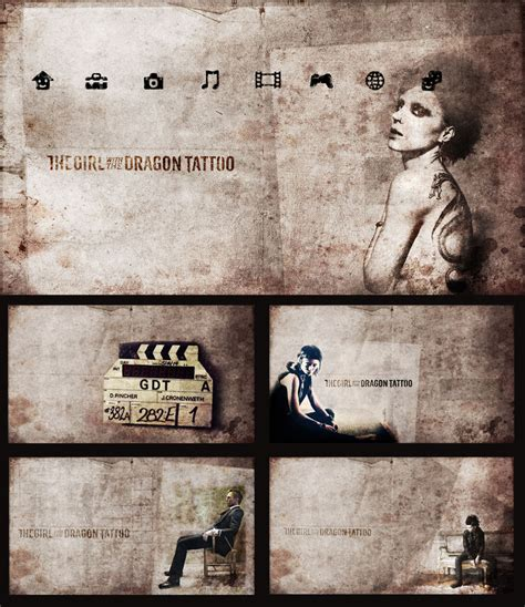 themes of girl with the dragon tattoo dragon tattoo ps3 theme by ajee8603 on deviantart