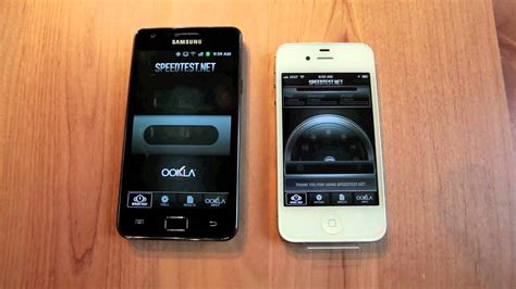 iphone 4s vs galaxy s ii 3g and wifi speed test