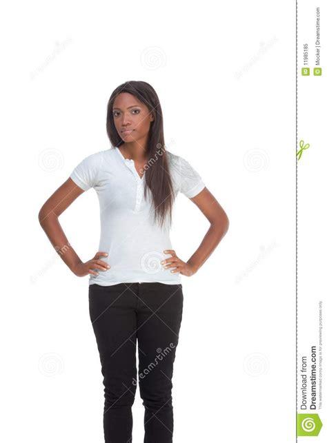 Etnic Black ethnic black in white t shirt royalty