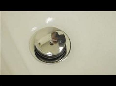 bathroom repair   repair  pop  tub drain stopper youtube