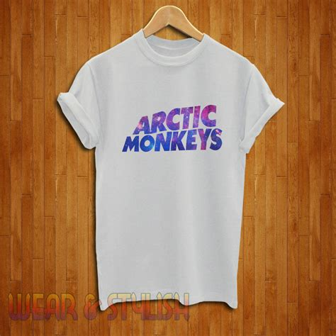 T Shirt Arctic 4 by Arctic Monkeys Shirt Arctic Monkeys Tshirt Arctic