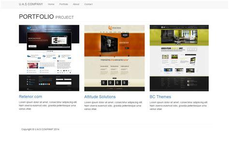 contoh web design dengan html contoh web statis dengan jsp dan bootstrap diegoferriz com