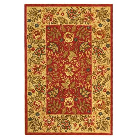 9 Ft Rugs by Safavieh Chelsea Ivory 6 Ft X 9 Ft Area Rug Hk140c 6