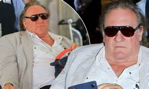 gerard depardieu wheelchair gerard depardieu sparks up cigarette at los angeles