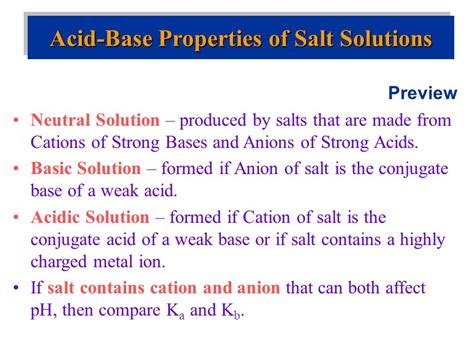 Acid Base Equilibria 4 11 Ppt Download Ppt Of Acid
