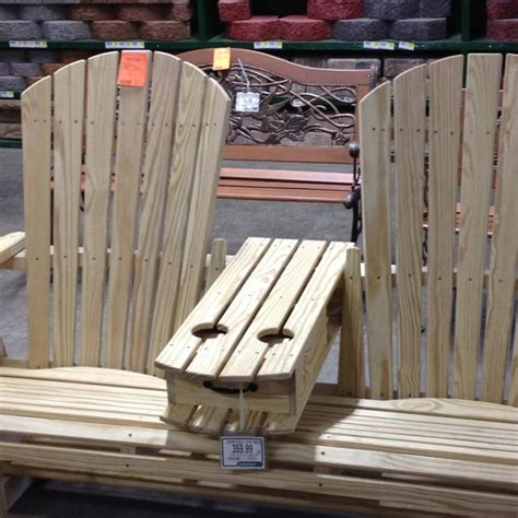 adirondack chairs  drink holders  table outdoor