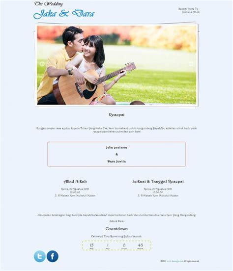 desain undangan pernikahan online gratis tema undangan online curly free cantik dengan tulisan