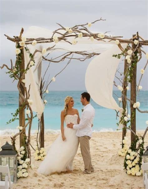 Bohemian Decorating Ideas by 69 Adorable Beach Wedding Arches Happywedd Com