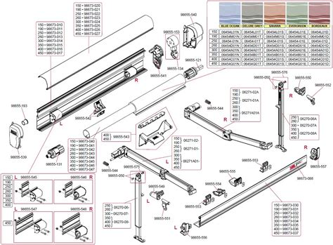 awning spares rv awning parts diagram car interior design