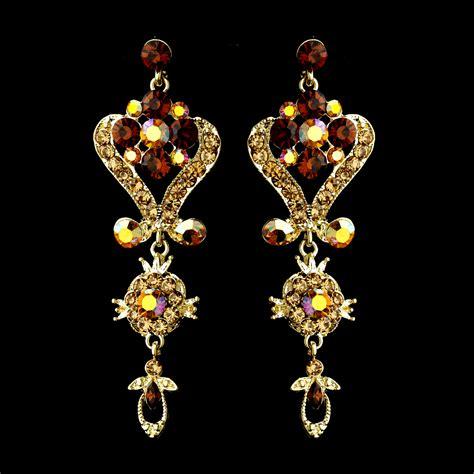 Vintage Bridal Chandelier Earrings Vintage Chandelier Wedding Earrings Bridal Hair Accessories