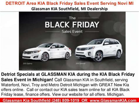 Black Friday Kia Sale Detroit Area Kia Black Friday Sales Event L Near Novi