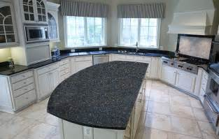 blue countertop kitchen ideas blue pearl granite kitchen countertops design ideas