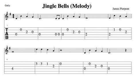 how to play jingle bells fingerstyle guitar tutorial easy guitar christmas songs jingle bells chords
