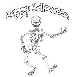 skeleton coloring page printable skeletons for holidays and observances
