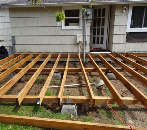how to build a frame for a porch swing how to build a deck in a weekend parr lumber
