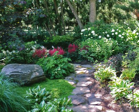 Shady Backyard Landscape Ideas Landscape Design Portfolio Sisson Landscapes