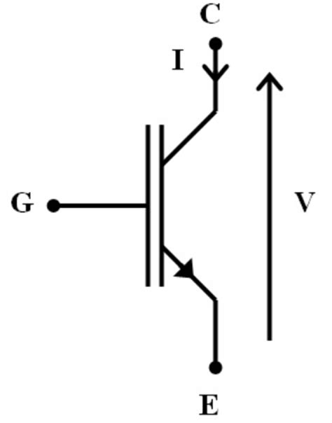 igbt transistor symbol file transistor igbt png
