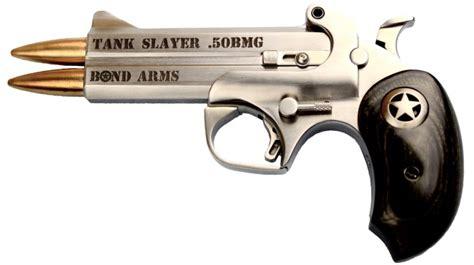 50 bmg pistol bond arms tank slayer 50 bmg not quite derringer
