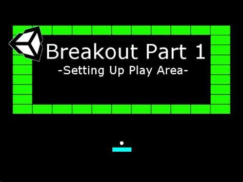 unity tutorial part 1 full download unity 5 tutorial breakout clone part 1