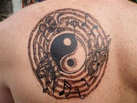 yin yang rose tattoo 51 wonderful yin yang shoulder tattoos