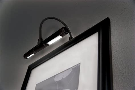 frame lighting battery operated cordless led picture light frame battery operated wireless