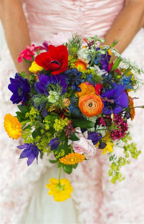 wildflower arrangements wildflower wedding bouquet by donna walker design http