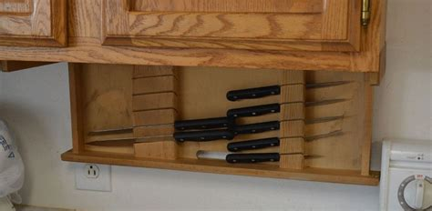 kitchen cabinet knife buy a custom under cabinet knife drawer made to order