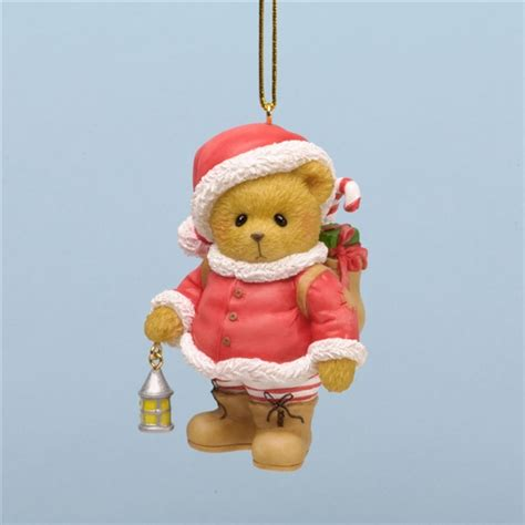christmas bear cherished teddies tree ornament 4034605