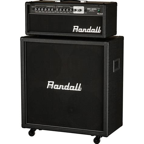Randall Bass Cabinet by Randall Rx120dhs 120w Half Stack Guitar With 4x12