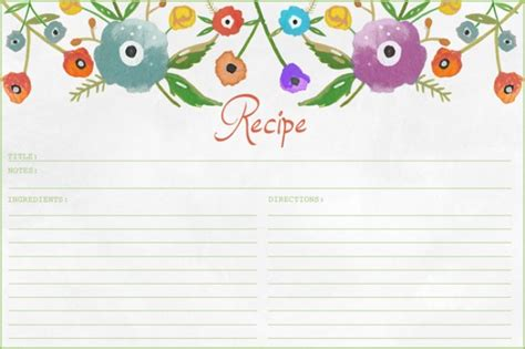 https tipjunkie projects recipe card template 2 10 printable recipe card templates free tip junkie