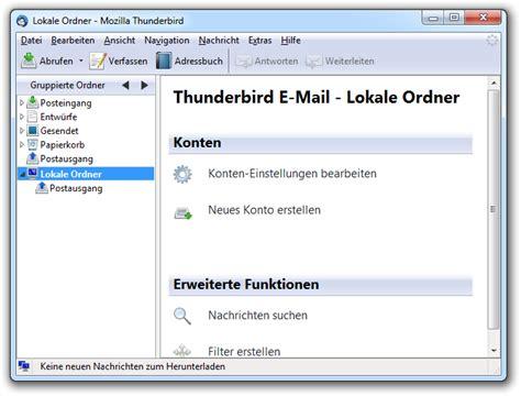 mozilla thunderbird themes for windows 8 mozilla thunderbird standard theme screenshot wantastisch de