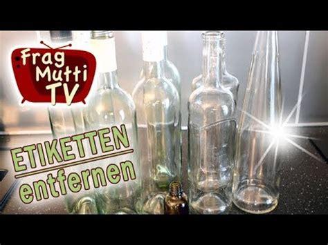 Etiketten Kleber Entfernen by Etiketten Klebereste Entfernen Frag Mutti Tv