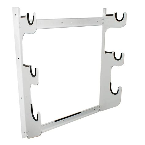 Front Rack Hold by Axle Rack Holds 1 Rear End And 2 Front Exles White Powder