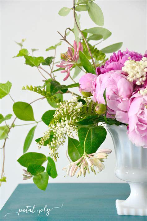 Garden Flower Arrangements Asymmetrical Garden Flower Arrangement