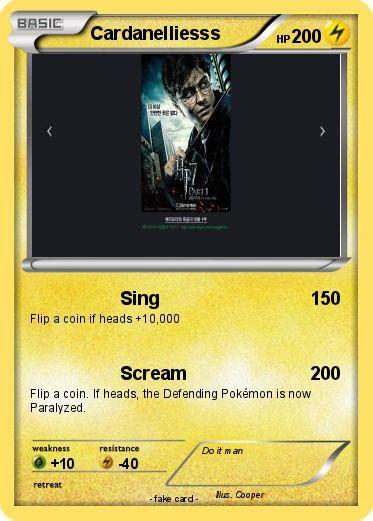 Kaos Yoda Poke pok 233 mon cardanelliesss sing my card