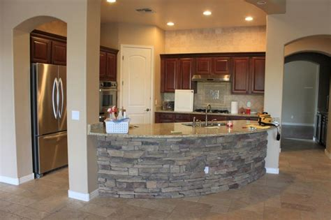 kitchen rock island like the small kitchen concept and can island with load bearing wall maybe do the