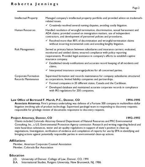 corporate attorney resume sle corporate attorney resume sles etame mibawa co