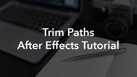 tutorial after effects path trim paths tutorial this after effects feature will