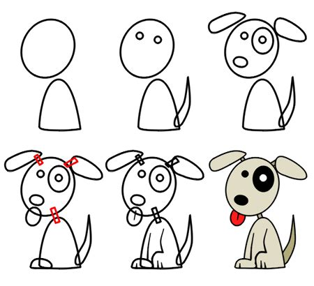 drawing puppies how to draw puppies