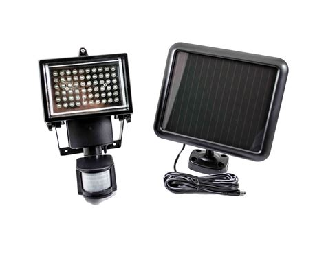 solar outdoor motion lights 60 led solar pir motion sensor security l garden