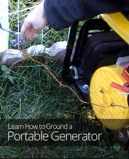 how to ground a portable generator home diy ideas