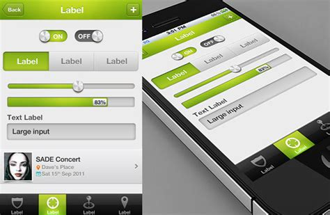 ios app design templates choose any 3 82 off