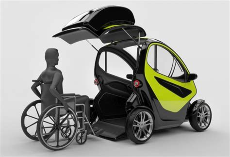 wheelchair smart car equal car for disabled prefundia