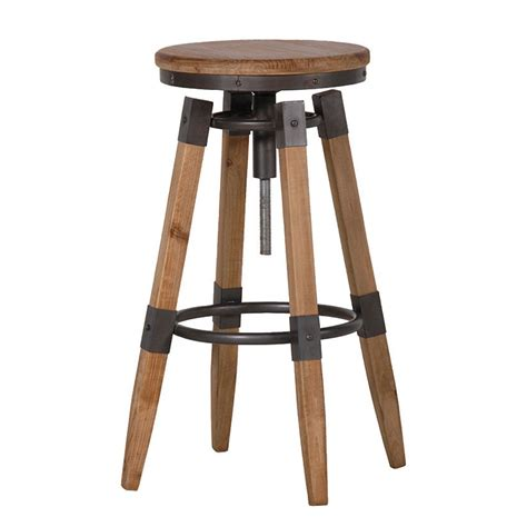 Wood And Metal Stool by Stools Wood Metal Bar Stool