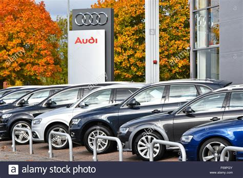 audi dealership cars car dealership audi car dealer sign with cars for sale
