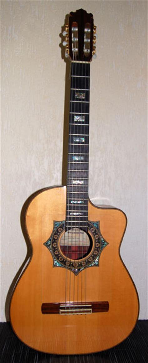 Handmade Classical Guitars Uk - 1993 uk luthier tony revell handmade custom walnut small